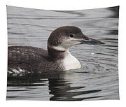Winter Loon Tapestry