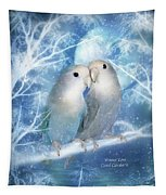 Winter Love Tapestry