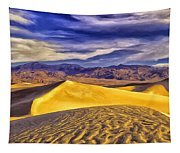 Winter Morning At Death Valley Tapestry