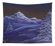 Winter Night Tapestry