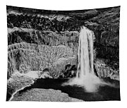 Winter Palouse Falls 3 Tapestry