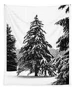 Winter Pines Tapestry