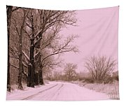 Winter Pink Tapestry