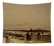 Winter Scene Tapestry