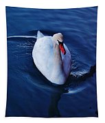 Winter Spin... Swan Style Tapestry