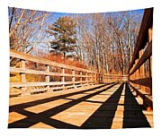 Winter Spring Crossover Tapestry