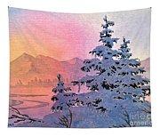 Winter Twilight Tapestry