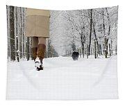 Winter Walk Tapestry
