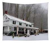 Winter Wonderland At The Valley Green Inn Tapestry