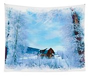 Winter Wonderland Tapestry