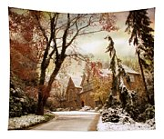 Winter's Entrance Tapestry