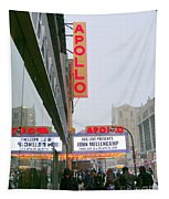 Wintry Day At The Apollo Tapestry