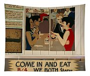 Wintzell's Oyster House Sign - Mobile Alabama Tapestry