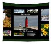 Wisconsin For All Seasons Tapestry