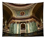 Wisconsin State Capital Building 1  Tapestry