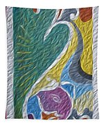 Wisdom And Peace I Tapestry