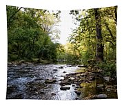 Wissahickon Creek Near Bells Mill Tapestry