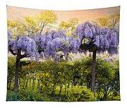Wisteria Trellis 2 Tapestry