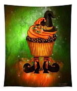 Witch Cupcake 6 Tapestry