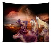 Wolf Mountain Tapestry