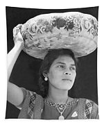 Woman In Tehuantepec, Mexico, 1929 Tapestry
