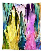 Woman Power Diptych 02 Tapestry