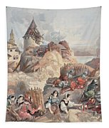 Women At The Siege Of Marseille Tapestry