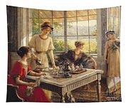 Women Taking Tea Tapestry