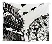Wonder Wheel Tapestry
