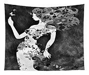 Wondering Bw Tapestry