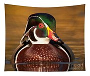 Wood Duck Tapestry