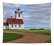 Wood Islands Lighthouse - Pei Tapestry