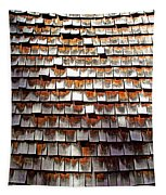 Wood Roof Shingles Tapestry