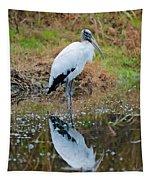Wood Stork  Tapestry