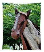 Wooden Horse20 Tapestry