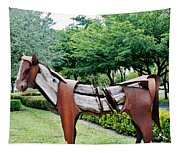 Wooden Horse22 Tapestry