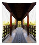 Wooden Path Tapestry