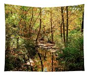 Woodland Brook  Tapestry