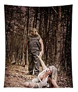 Woods Of Terror Tapestry