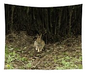Woodsy Rabbit Tapestry