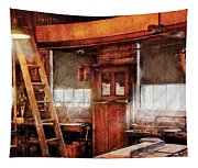 Woodworker - Old Workshop Tapestry