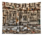 Woodworking Tools Tapestry