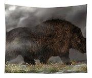 Woolly Rhinoceros Tapestry