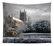 Worcester Cathedral Cloudy Tapestry
