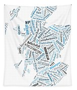 Wordcloud Of Scotland Tapestry
