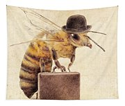 Worker Bee Tapestry