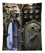 World War 2 Era Submarine Hatch - Pearl Harbor Tapestry