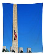 World War II Memorial And Washington Monument Tapestry
