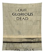 World War Two Our Glorious Dead Cenotaph Tapestry