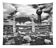 Worlds Fair Park In Knoxville - Infrared Tapestry